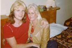 My wife and I 1973  L.A.